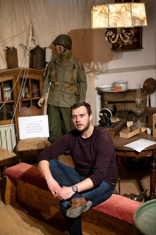 Robert Braam is gefascineerd door de Tweede Wereldoorlog.