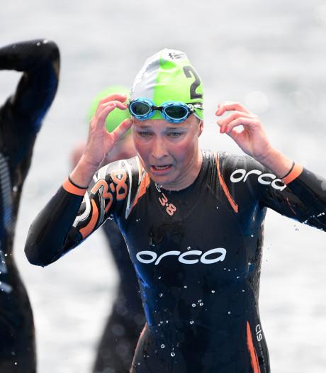 Val houdt Beuningse triatlete Klamer van topnotering in Hamburg