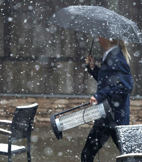 Oh ja, het is winter: woensdagochtend vroeg kan er zomaar een laagje sneeuw liggen