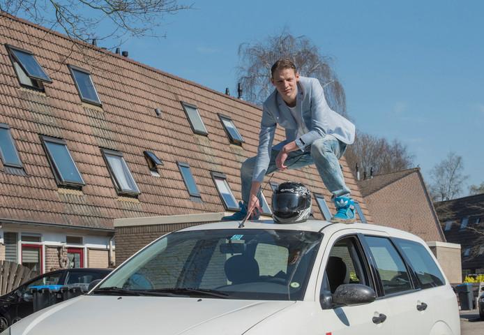 28-03-2017 Sebastiaan van der Wal : Harderwijk - Sebastiaan van der Wal, stuntman. Gaat naar Hollywood© Ruben Schipper Fotografie