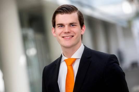 PVV-raadslid Elias van Hees: 'gescheiden gym is middeleeuws'.