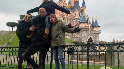 Staf Coppens viert huwelijksverjaardag in Disneyland