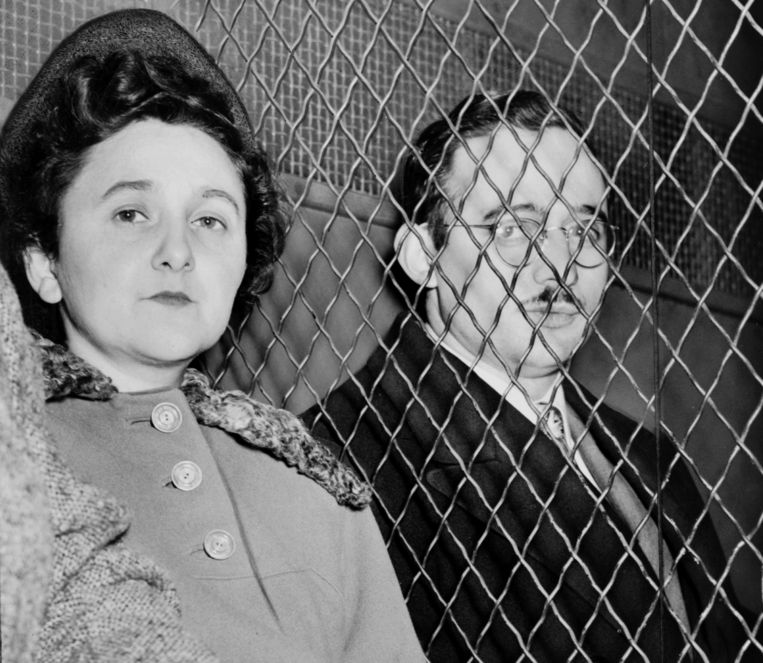 Julius en Ethel Rosenberg. Beeld Getty