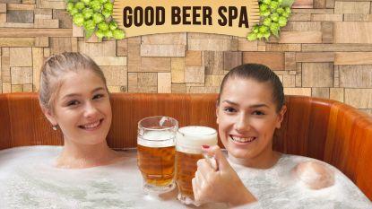 """Vanaf eind dit jaar kan je baden in bier in Brussel, expert is terughoudend: """"Het kan zeker geen kwaad, maar wonderen moet je niet verwachten"""""""