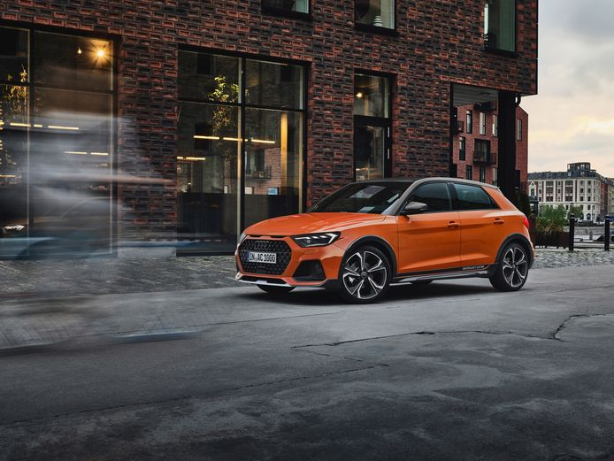 De Audi A1 Citycarver