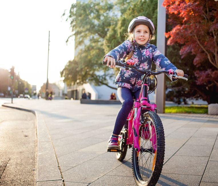 Buck-e moet scholieren aansporen om te voet of met de fiets naar school te komen.