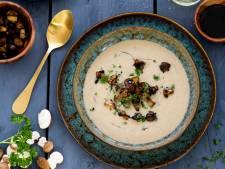 Wat Eten We Vandaag: Romige champignonsoep met kastanjechampignons