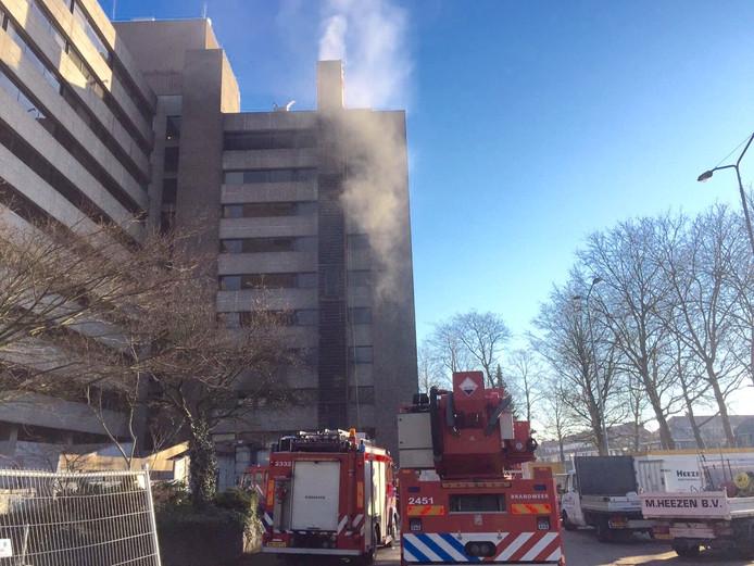 Brand in TD-gebouw Eindhoven