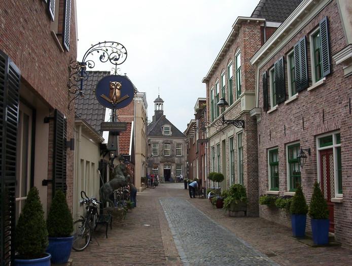 Gasthuisstraat in Ootmarsum.