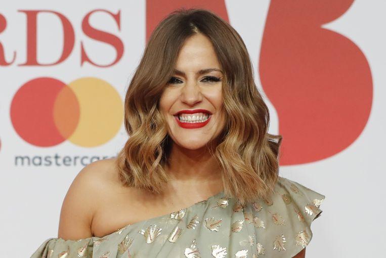 Caroline Flack in 2018.