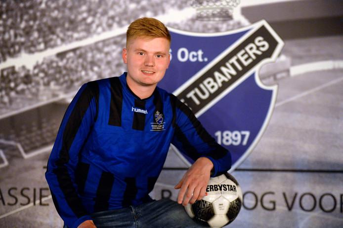 Timo Roelofsen is na blessureleed weer fit en voelt zich thuis bij De Tubanters.