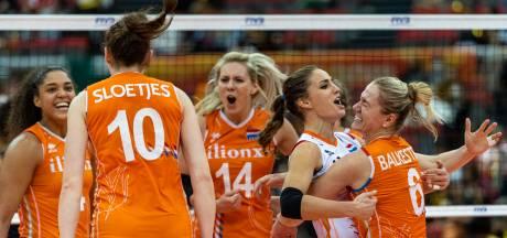 Grote vreugde bij volleybalsters: 'Eindelijk een topland verslagen'