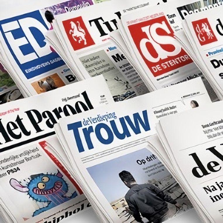 Gevaarlijke Nederlandse kranten. Beeld