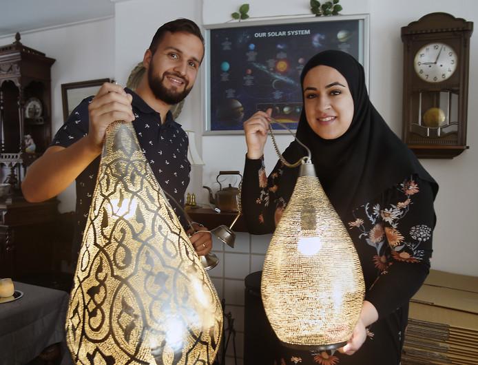 Marokkaanse Lampen Huis : Jos en manar verkopen in vlissingen arabische lampen uit caïro