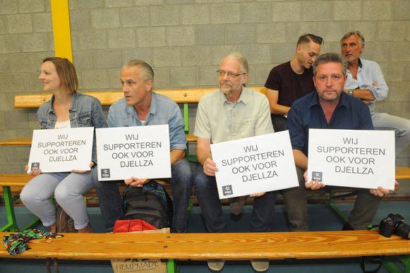 PVDA supportert voor Djellza.