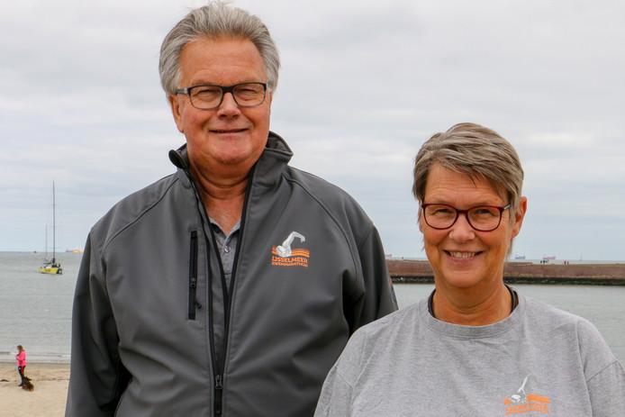 Cor en Jantine de Bruin hopen vurig op een doorstart van de IJsselmeermarathon.