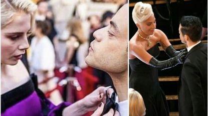 Grappig: Oscarwinnaar Rami Malek had Jan en alleman nodig om zijn strikje te knopen