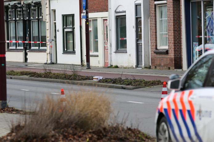 Het bewuste pakketje in Oudenbosch.