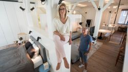 """Naomi uit Antwerpen renoveert loft van """"loon tot loon"""". Maar het resultaat is fenomenaal"""
