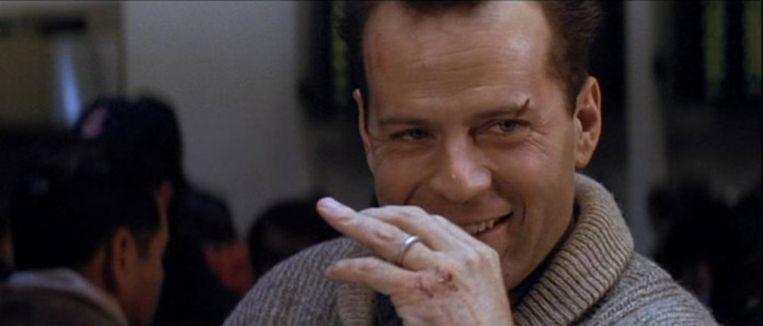 Bruce Willis in Die Hard 2 Beeld
