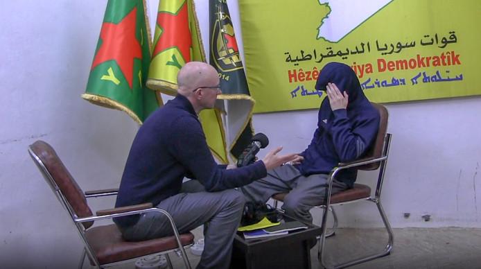 Abdoussalam S. is een van de jihadisten die gevangen zit in een Koerdische cel