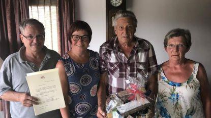 Noël en Micheline 50 jaar gehuwd