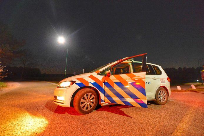 Overval door drie gemaskerde mannen op woning in Riethoven.