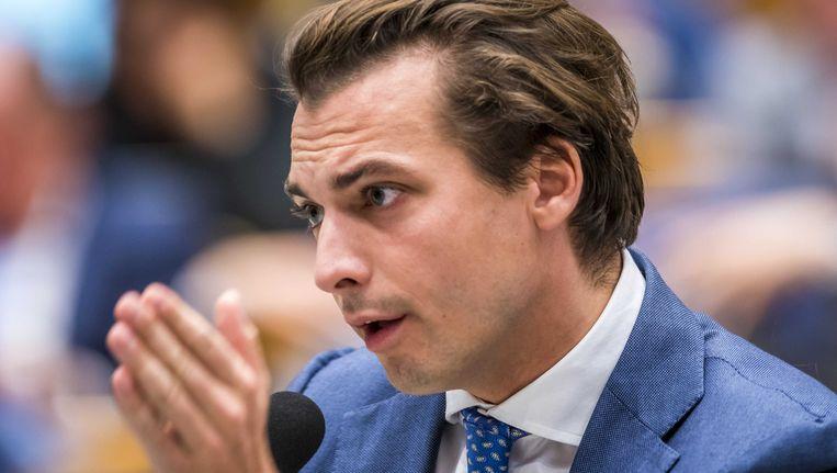 Forum voor Democratie-leider Thierry Baudet. Beeld anp