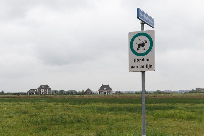 Project Eeserwold bij Steenwijk werd ontwikkeld voor onder andere luxe vrijstaande woningen. Daar staan er nog maar een paar van.