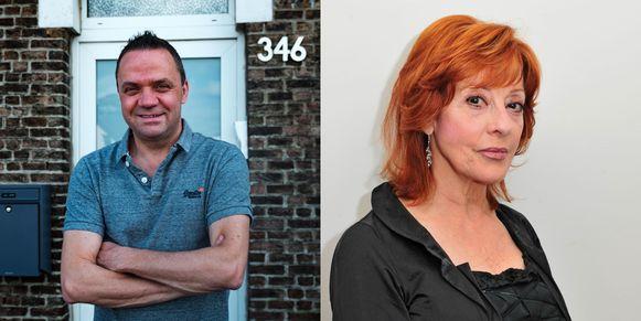 Steve Tielens en Liliane Saint-Pierre.