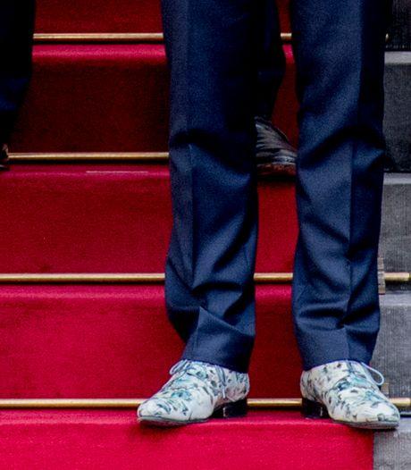 Bloemenschoenen minister leveren Serious Request 3500 euro op