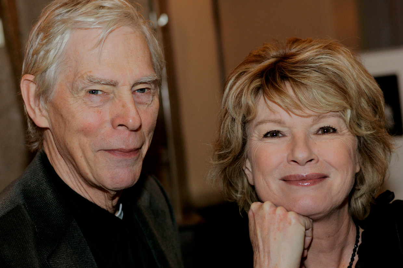 Martine Bijl en haar echtgenoot Berend Boudewijn in 2007.