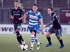Grote nederlaag vrouwen PEC Zwolle in Friesland