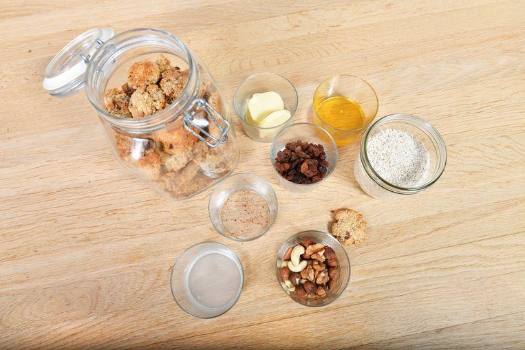 Ingrediënten voor gezonde koekjes