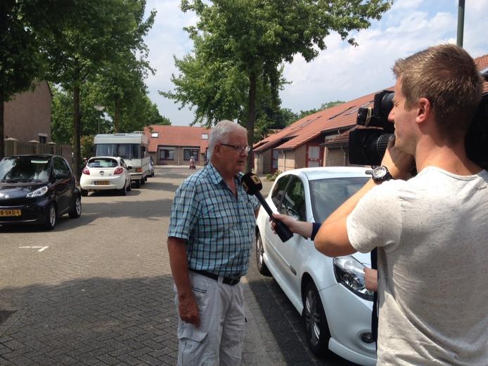 Willy van Heeswijk hoorde het gegil van het meisje en ging haar direct helpen.