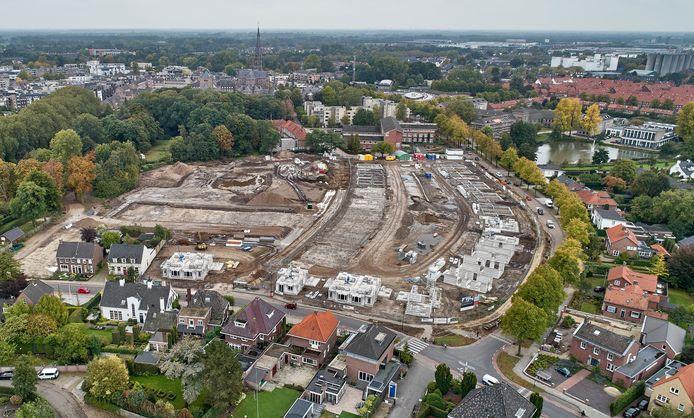 Nieuwbouw Kloosterkwartier op terrein van voormalig ziekenhuis Bernhoven in Veghel.