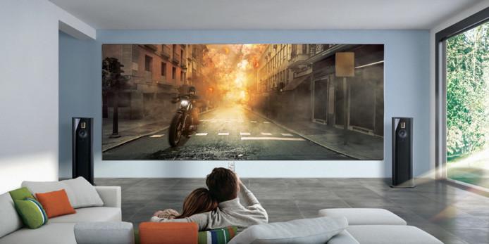 """""""The Wall Luxury"""", la nouvelle télévision impressionnante de Samsung."""