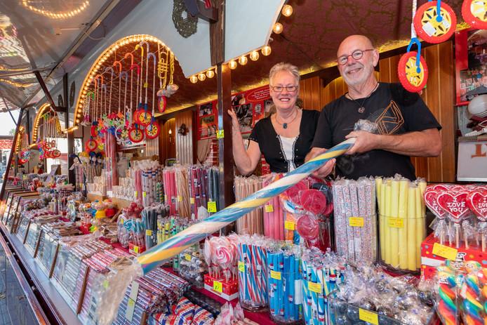 Vorig jaar werden Bert en Roely Scherphof nog gehuldigd vanwege hun gouden jubileum op de Lambertuskermis.