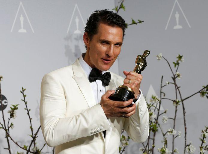 Matthew McConaughey werd dit jaar onderscheiden met de Oscar voor Beste Acteur voor zijn hoofdrol in de film Dallas Buyers Club.