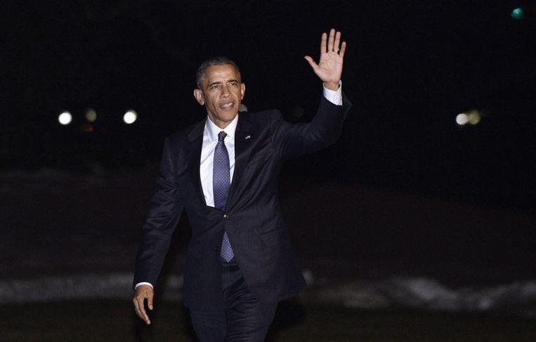 Amerikaanse president Barack Obama. Beeld epa