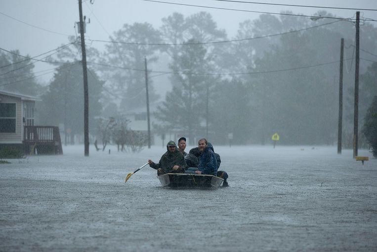 Orkaan Florence ging dit jaar in de Verenigde Staten gepaard met hevige regens.
