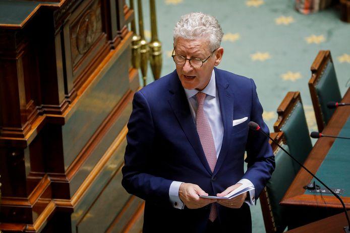 Belgisch minister van Binnenlandse Zaken Pieter De Crem.