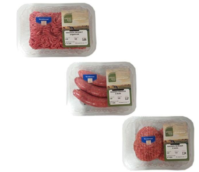 De vlees van Weidenaar is door AH uit de schappen gehaald.