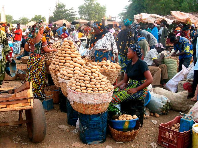 Markt in Mali