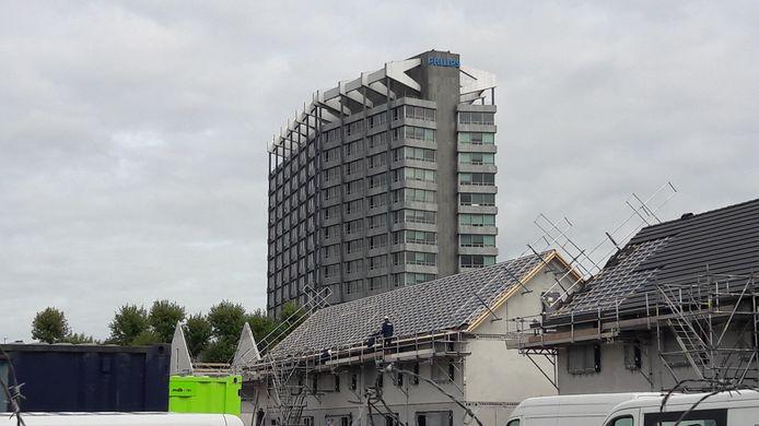 Woningbouw op Vredeoord in Eindhoven waar Sint Trudo sociale huurwoningen bouwt. Ook is er plaats voor kleine projecten van collectief particulier opdrachtgeverschap van eigenaar-bewoners (archieffoto ter illustratie).