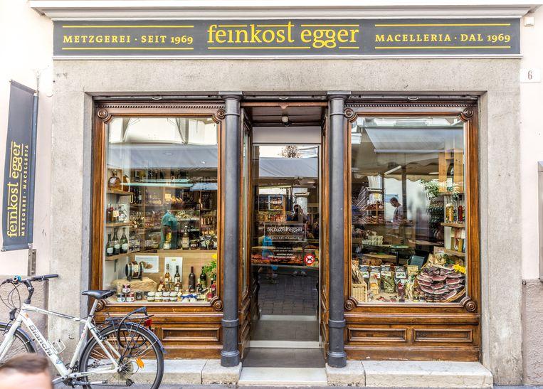 Beste delicatessen van Bolzano. Beeld Noël van Bemmel