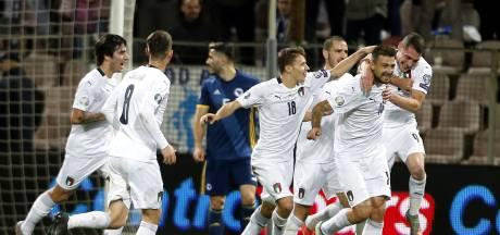 Italië behoudt ook na duel met Bosnië maximale score
