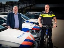 De agent moet nog meer fietsen in Oost-Nederland
