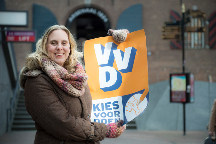 Inge van Dijk van de VVD.
