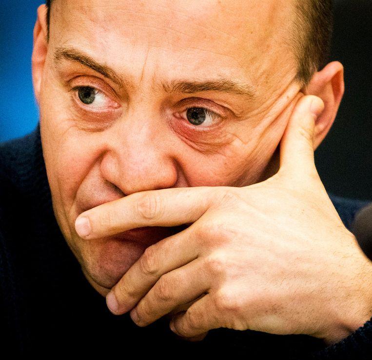Paul Vugts, misdaadjournalist van Het Parool. Beeld anp